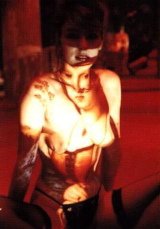 Liliana Moro, Souvenir d'Italie, 1991 Projections - Vitrine au Peep-show , Galerie Hortense Stael, Paris