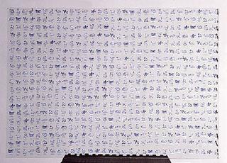 Liliana Moro, Animali, 1993 Ella si vergogna di mettersi una rosa Galleria Neon, Bologna