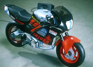 Liliana Moro, Soffio, 1999 (Blow) Motocycle, acustic recording 74 x 110 cm Foto:Giulio Buono Courtesy:Galleria Emi Fontana, Milano