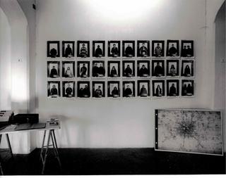 Showroom 95 Mostre laboratorio dall'Archivio, Mappe '96, veduta dell'allestimento