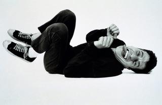 Maurizio Cattelan, Photo © Armin Linke, 1995