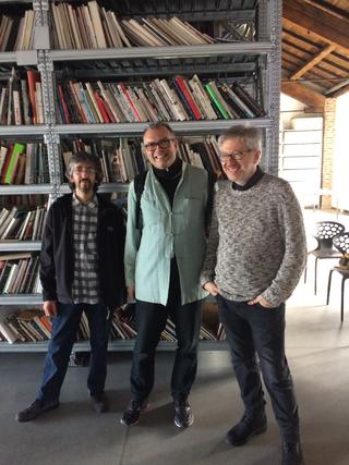 People | Artists, Maurizio Mercuri, Gianluca Codeghini eGuido Molinari, 2017