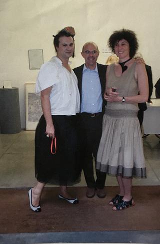 People | Family, Milovan Farronato, Marco Infurna, Patrizia Brusarosco alla presentazione del volumeSouvenir d'Italie - a non profit art story, 2010