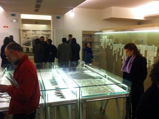 Arimortis, Opening della mostra