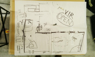 VIR Viafarini-in-residence, Open Studio, Mappa provvisoria