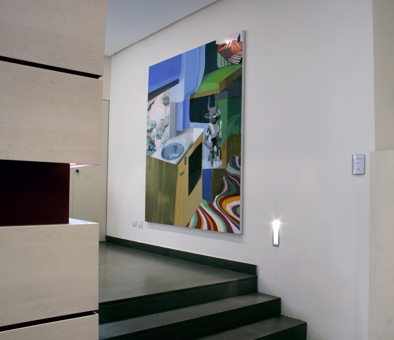 Re-Enacted Painting - Preview, presso A.T. Kerney,  Alessandro Roma, Senza titolo