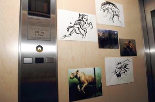 Re-Enacted Painting - Preview, presso A.T. Kerney, Lorenza Boisi + Maria Benjamin, Wild kabinet (dettaglio)