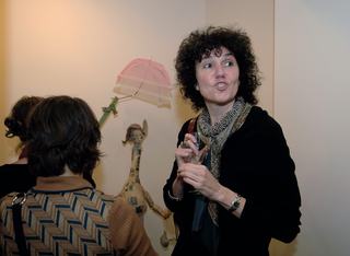 Re-Enacted Painting - Preview, presso A.T. Kerney, Patrizia Brusarosco all'inaugurazione