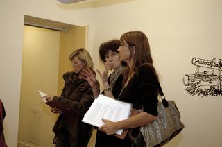 Re-Enacted Painting - Preview, presso A.T. Kerney, Patrizia Brusarosco illustra alla giuria
