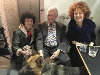 Jimmie Durham, Patrizia Brusarosco, Jimmie Durham e Gabi Scardi, 2019