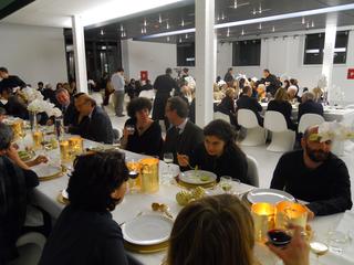 People | Family, Patrizia Brusarosco con Bartolomeo Pietromarchi, Direttore del Museo MAXXI, all'inaugurazione della mostra Contemporaneo.doc/DOCVA, 2010