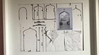 """VIR Viafarini-in-residence, Open Studio """"Ragazze"""", Federico Tosi, progetto per intervento site-specific a VIR Viafarini-in-residence, 2013"""