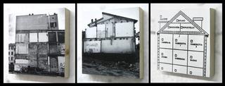 Re-Enacted Painting, Martina Della Valle Un'ultima cena, 2005 (dettaglio) stampa fotoceramica su 10 mattonelle in porcellana 40 x 40 cm ciascuna,dimensioni totali 200 x 80 cm