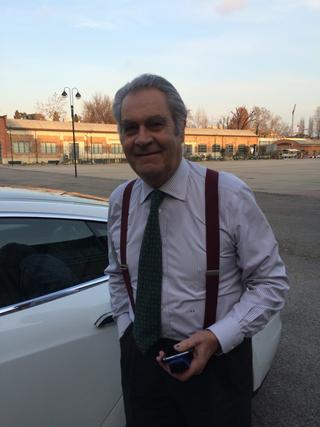 People | Family, Rodrigo Rodriguez, sostenitore di Viafarini, in visita alla Fabbrica del Vapore, 2016