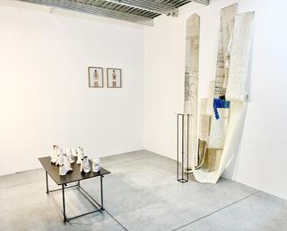 Schnittmenge, Veduta dell'installazione Courtesy: Julia Krahn