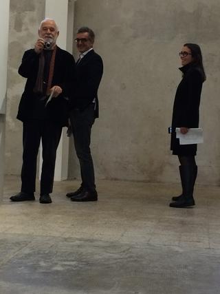 People | Family, Giovanni Sabatini con Claudio Soldini a Fondazione Prada, 2016