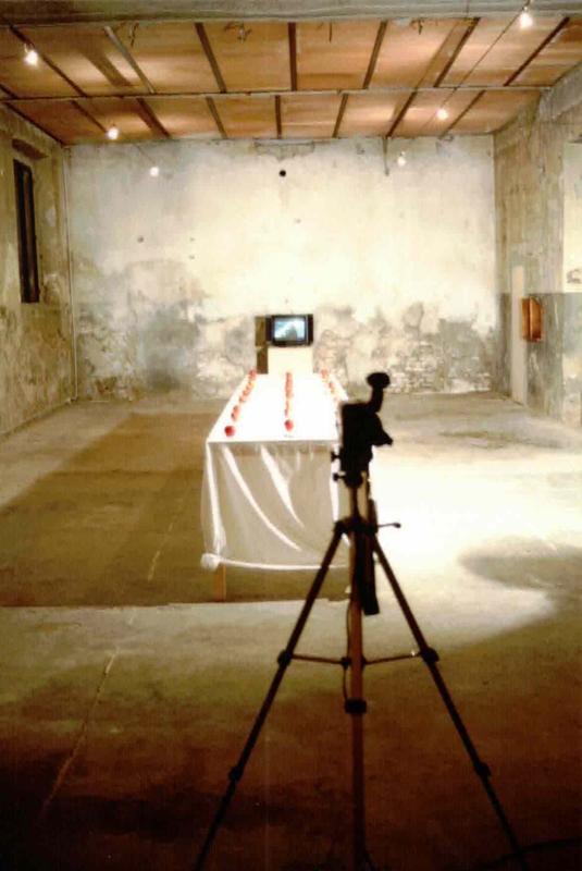 Hossein Golba, Scolpire il Tempo - omaggio ad Andreij Tarkovskij, Scolpire il Tempo, veduta dell'installazione