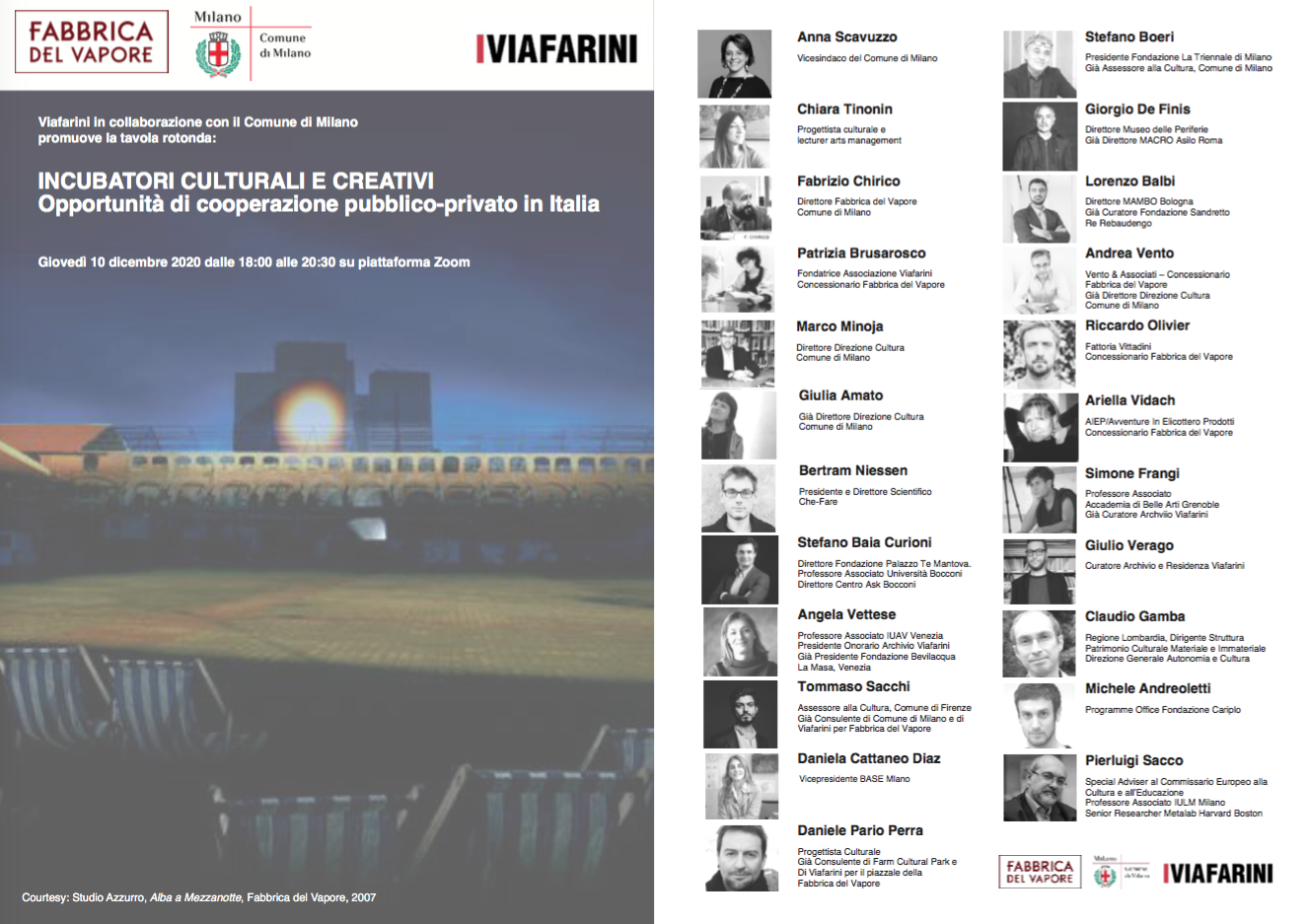 Incubatori culturali e creativi. Opportunità di cooperazione pubblico-privato in Italia.