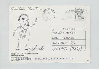 Gabriele Picco,Disegnacci e disegnini, Cartolina da New York