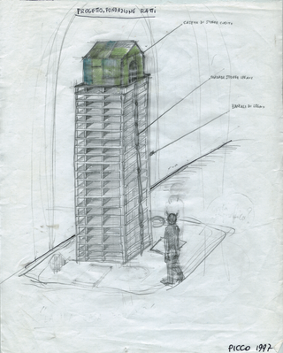 Gabriele Picco,Disegnacci e disegnini, Progetto per la Fondazione Antonio Ratti