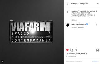 progetto77 e Archivio Viafarini, Studio visit a Viafarini