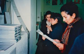 Interplace access - documentazioni di organizzazioni non-profit e progetti gestiti da artisti tra Europa e New York, Interplace excess* di Giancarlo Norese