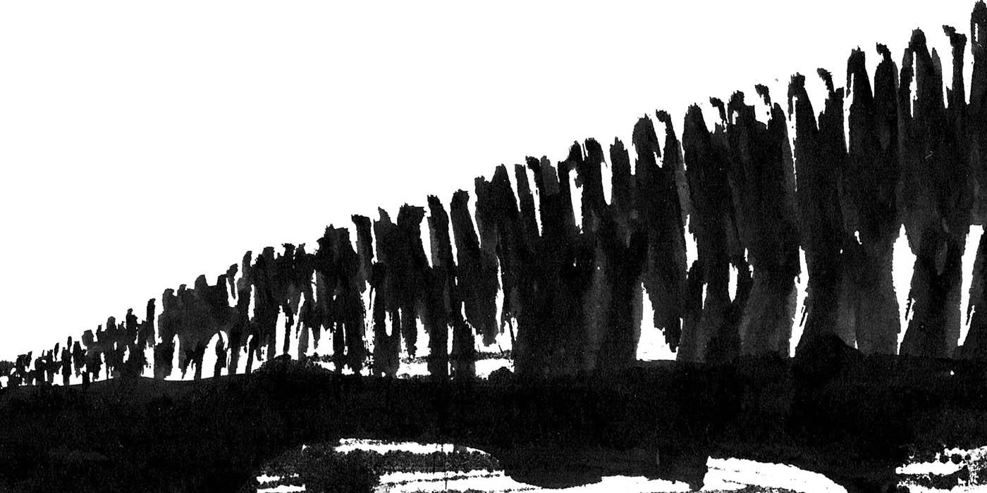 Thin Line,  Invito Thin Line 2, immagine di Giona Bernardi.