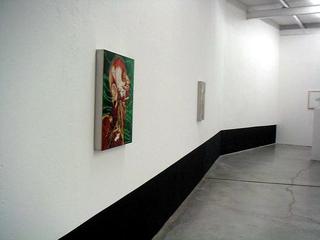 Thin Line, Valerio Carruba, particolare dell'installazione.