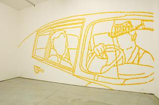 Thin Line, Gino Lucente, murales.