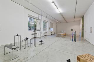 VIR Viafarini-in-residence, Open Studio, Veduta dell'installazione per l'Open Studio. Foto di Davide Tremolada.