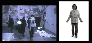 """Vito Acconci. Arte, architettura e design verso lo spazio pubblico - Un confronto con la situazione della Public Art in Italia nel lavoro di 60 artisti italiani. Conferenza di Vito Acconci 14 aprile, WURMKOS - TRE, IN FIGURE DELL'ANIMA , CASTELLO VISCONTEO, PAVIA E PALAZZO DUCALE, GENOVA, 1998.  Wurmkos è un laboratorio di arti visive creato nel 1987 da Pasquale Campanella e dalla cooperativa """"Lotta Contro L'Emarginazione"""" di Sesto San Giovanni. Il laboratorio, a cui partecipano persone con disagi psichici, non ha fini didattici o terapeutici, ma, rifiutando confini precisi tra ciò che è arte e ciò che non lo è, cerca di avviare nelle singole personalità dei partecipanti un processo creativo che favorisca, attraverso le opere, la comunicazione interpersonale. L'obiettivo di Wurmkos è promuovere l'esperienza artistica in rapporto diretto con la società, riconquistando alla creatività e alla malattia uno spazio sociale non marginale. Treè un work in progress in cui si è privilegiato l'aspetto della relazione e del coinvolgimento emotivo delle persone con le opere piuttosto che la loro semplice ambientazione nello spazio. Gli artisti avevano progettato oggetti che volevano essere indossati e manipolati da altre persone. Lungo la durata della mostra abbiamo chiesto la collaborazione di tutti coloro che conoscevano o volevano conoscere l'attività di Wurmkos, invitandoli ad """"agire"""" le creazioni degli artisti. Le persone e i gruppi che hanno collaborato, fra loro diversissimi, hanno svolto un ruolo molto attivo: abbiamo discusso e progettato insieme a loro. Questo perché non si voleva un coinvolgimento e una partecipazione indifferenziata: l'obiettivo era quello di instaurare un rapporto con quella data persona e non con un individuo qualsiasi. Si è voluto evitare un atteggiamento molto diffuso oggi nel mondo dell'arte che vede il coinvolgimento assunto a paradigma indifferenziato, strumentale e alla moda. Treè caratterizzato da una apertura verso l'alterità, dal desiderio"""
