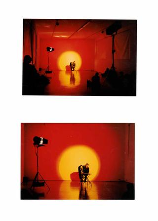 La voce interna, Asta Gröting. Con Pietro Ghislandi, ventriloquo, Foto di Armin Linke