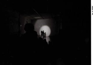 La voce interna, Asta Gröting. Con Pietro Ghislandi, ventriloquo, Foto di Mario Gorni