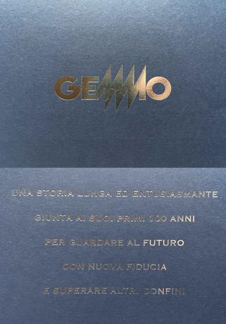 Gemmo SpA, Invito per il ricevimento in occasione dei 100 anni di Gemmo SpA.