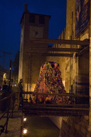 Anna Galtarossa, Il Mostro di Castelvecchio