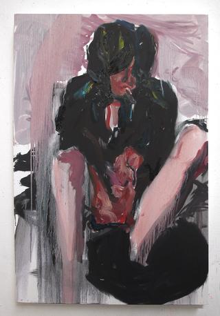 Memories and Encounters. Sharon Houkema, Igor Muroni, Joanne Robertson, Nicholas Lighting His Fag Like A Baby,2006.