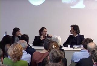 People | Family, Elena Bordignon, Milovan Farronato e Marco Tagliaferro al DOCVA durante Curatology, 2009