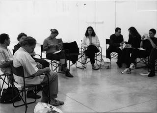 Jimmie Durham, Il gruppo di partecipanti al workshop a Viafarini, 1997