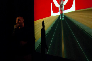 ArTransit | Performance Labour 1, Roberto Fassone Jeg Er Enorme Jaevler I (il bimbo onnipotente), 2014 Foto di Anna Pfeiffer