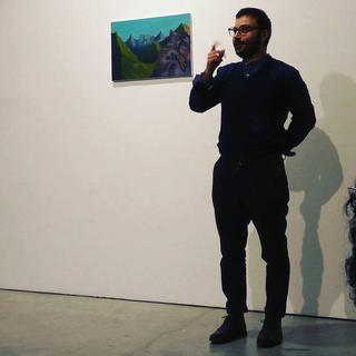 Painters Club - short artist talks about painting, Francesco Maluta