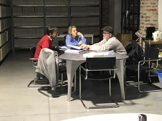 Coworking Lotto 15, L'architetto Gerardo Ghioni in dialogo con gli artisti in residenza Nabuurs & Van Doorn