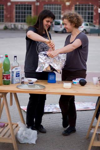 ArTransit | Performance Labour 1, Hoferoppligerschweikerkaltenbach Gastfreundschaft kompliziert, 2014 Foto di Simona Luchian