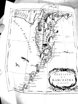 Anna Galtarossa, Kamchatka, La mappa.