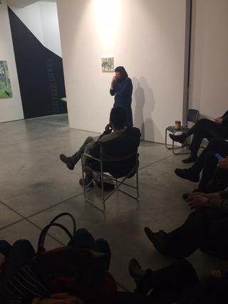 Painters Club - short artist talks about painting, Lorenza Boisi