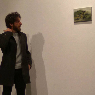 Painters Club - short artist talks about painting, Luigi Massari