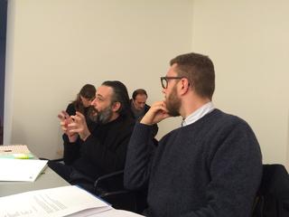 People | Family, Marco Tagliaferro e Giulio Verago alla giuria della Fondazione Bevilacqua La Masa a Venezia, 2015