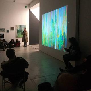 Painters Club - short artist talks about painting, Massimo Kaufmann