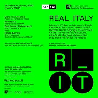 Leone Contini, Il Corno mancante, Invito alla mostra collettiva dei progetti vincitori del Bando Italian Council, Museo MAXXI, 2020.