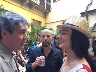 La Storia dell'Archivio - 3 - Italian Area, Anna Stuart Tovini e Vincenzo Chiarandà - Premiata Ditta, nel 2017, con il loro progetto Undo.net hanno collaborato a italianarea.it