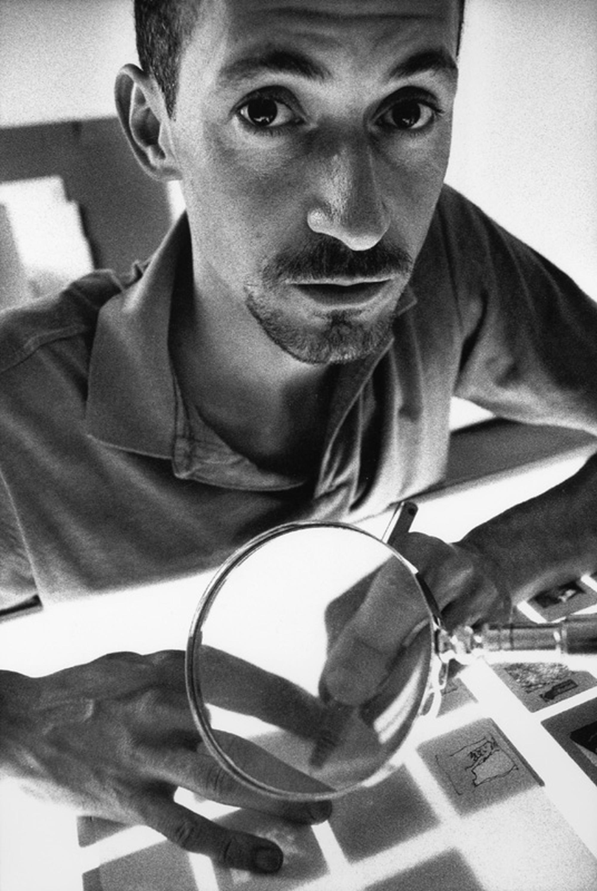 Stefano Arienti, Photo © Armin Linke, 1993